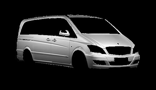 Цвета кузова Viano (W639)